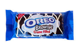 New! Oreo Brownie Creme Filled