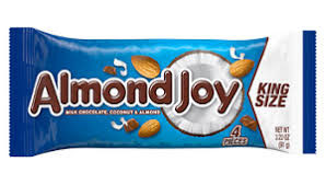 Almond Joy Bar King Size