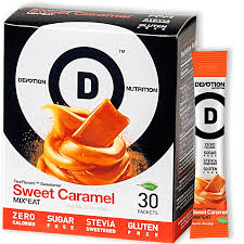 New! Devotion Nutrition Flex Flavours - Sweet Caramel
