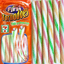 New ! Tornadoes Fizzy and Chewy Candy - 4oz