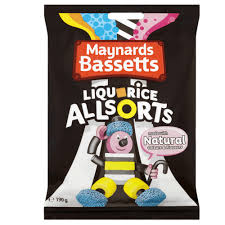 New! Bassetts Liquorice Allsorts UK