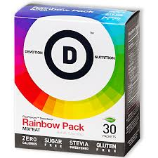 New! Devotion Nutrition Flex Flavours - Rainbow Pack 30 Count Stick Pack -  2 of each flavour