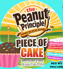 New! Peanut Principle Piece of Cake