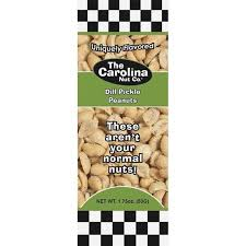 New! The Carolina Nut Co. Dill Pickle Peanuts - 4.5oz  ***Limit One Per***