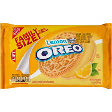 New! Oreo Lemon - Family Size