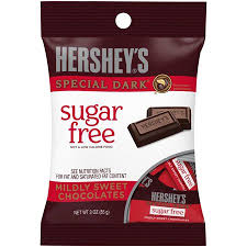 New! Hershey's Sugar Free Special Dark Chocolate