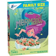 New! Mermaid Cereal - 20.7oz