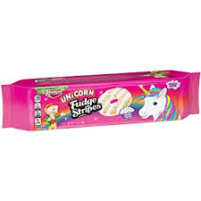 New! Keebler Unicorn Fudge Stripes Magic Cupcake Limited Edition