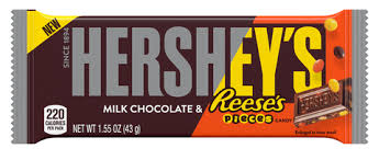New! Hersheys Filled with Reese's Pieces