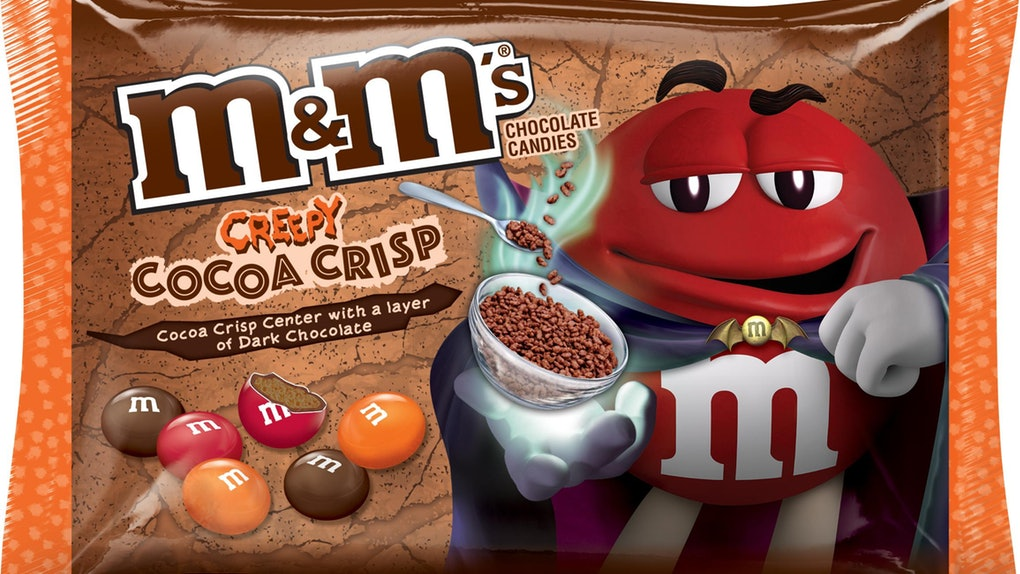 New! M&M's Halloween Creepy Cocoa Crisp - 8oz