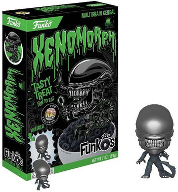 New !  Alien Xenomorph Cereal - Includes Funko Pocket Pop!