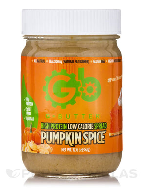 GButter Pumpkin Spice Nut Butter 12.6oz
