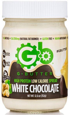 GButter White Chocolate Nut Butter 12.6oz