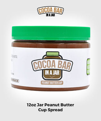 Cocoa Bar In A Jar Peanut Butter Cup