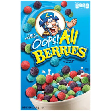 Cap'n Crunch's Oops! All Berries Crunch 15.4oz