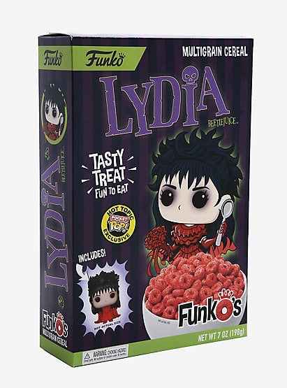 New! Lydia Cereal - Includes funko Pocket Pop!