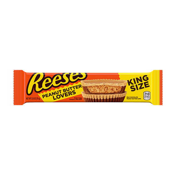 New! Resse's Peanut Butter Lovers - King Size