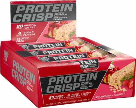 New! Syntha-6 Strawberry Crunch Protein Crisp Bar SALE!