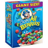Cap'n Crunch Crunch Oops All Berries Giant Size - 26oz