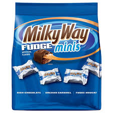 New! Milky Way Fudge Minis -  Fun Size 8.9oz