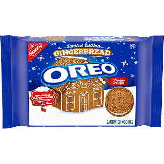 New! Oreo Gingerbread Limited Edition - 12.2oz  ***One Per Customer***