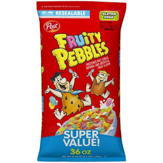 Fruity Pebbles Cereal - 36oz