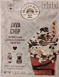 Frozen Bean Java Chip Frappe Mix