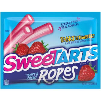 Sweetart Ropes Tangy Strawberry - Pack 15