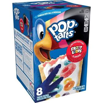 New! Pop Tarts Limited Edition Froot Loops - 8ct ***Limit One Per***