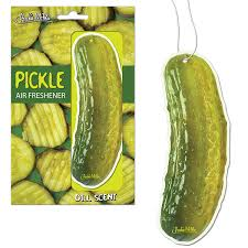 New! Archie McPhee Pickle Air Freshener