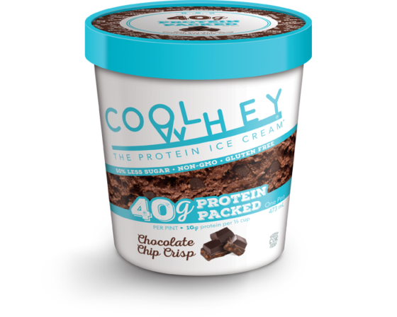 CoolWhey Protein Ice-Cream  500ml - Chocolate Chip Crisp