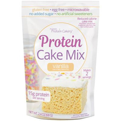 New! Andrea's Protein Cakery Protein Cake Mix 2.4oz