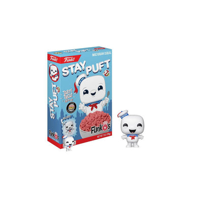 New ! Stay Puft Cereal - Includes Funko Pocket Pop!