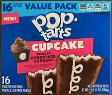 New! Pop Tarts Frosted Chocolate Cupcake - 16ct