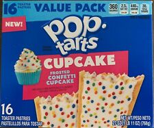 New! Pop Tarts Frosted Confetti Cupcake - 16ct