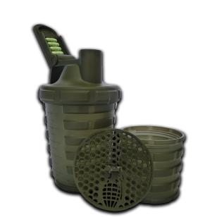 Grenade Shaker Cup - Various Colours