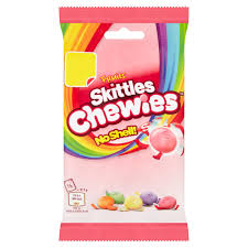 New! Skittles Chewies No Shell Limited Edition - 4.4oz