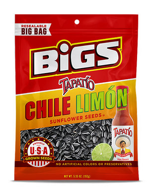 BIGS Sunflower Seeds - Tapatio Chile Limon