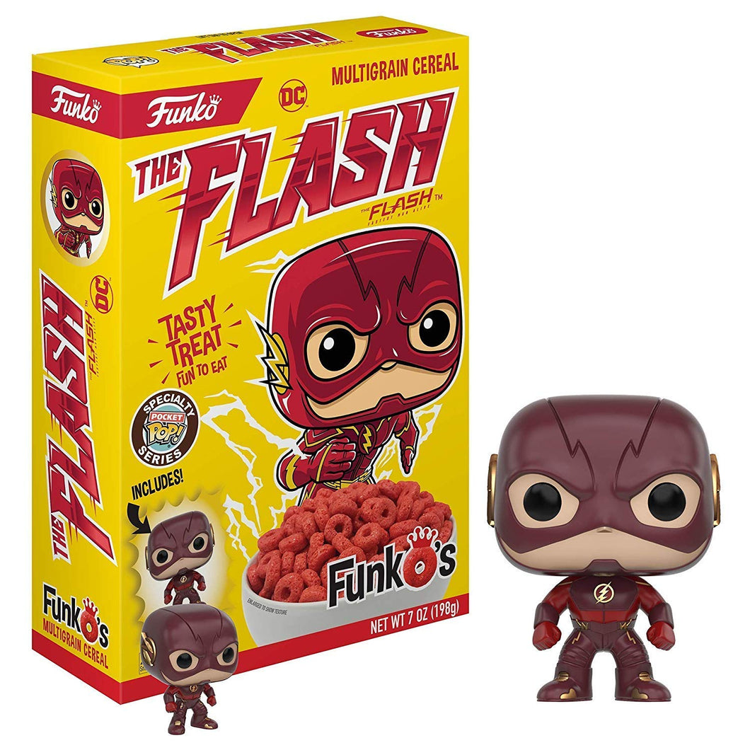 New! The Flash Funko Cereal - Includes funko Pocket Pop!