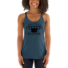 Blue Collar Brawler Women's Racerback Tank - Heavy Barrel Designs