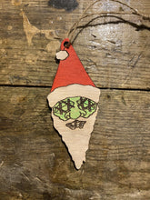 Shrunken Santa Head Ornament - Heavy Barrel Designs