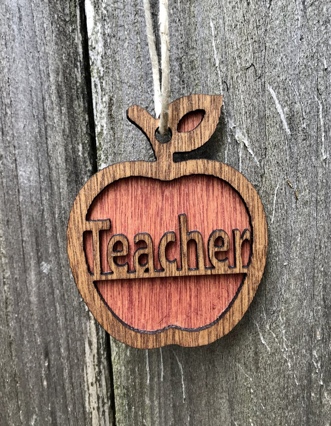 Teacher Ornament - Heavy Barrel Designs