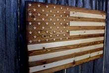 Wooden American Flag - Heavy Barrel Designs
