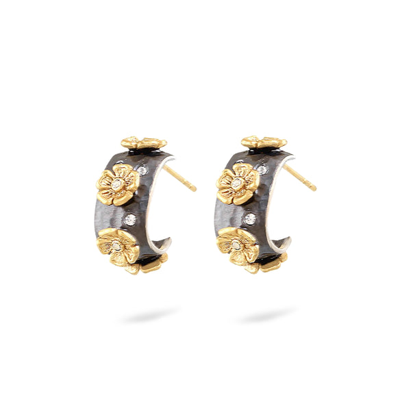 DANNI PRIMROSE HUGGY HOOP EARRINGS