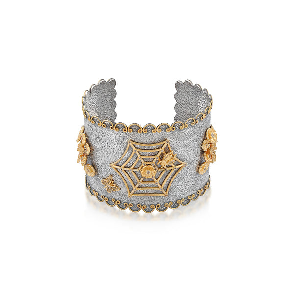 ENCHANTED WEB CUFF BRACELET