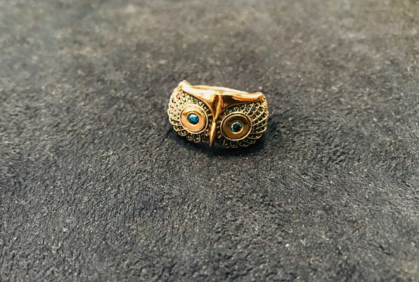 TARU OWL RING