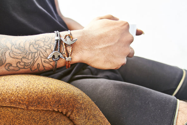 Bay Street Anchor Bracelet