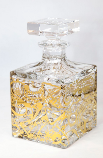 Vista Alegre Crystal Cronos Decanter