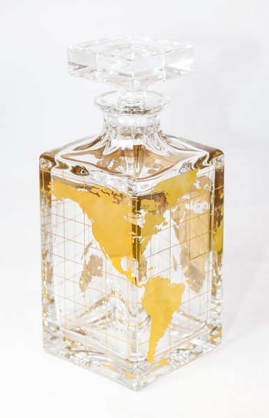 Vista Alegre Crystal Atlas Decanter