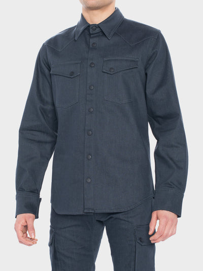 Augusta Motorcycle Stretch Denim Shirt with Dyneema®